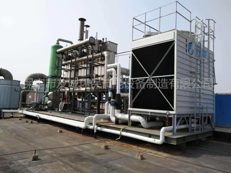 临沂某制药厂有机废气治理工程